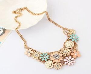 N289-Betsey-Johnson-Summer-Pomander-Flower-Floral-Bouquet-Hydrangea-Necklace-US