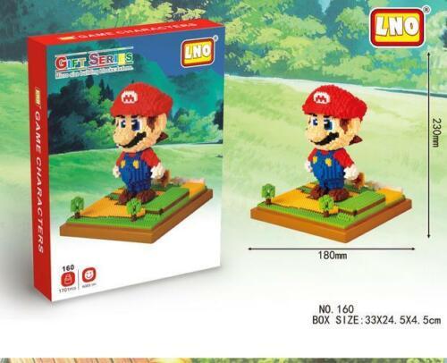 UK Super Mario Green Yoshi DIY Mini Blocks Building Nano Block LNO Iblock New