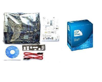 NEW INTEL G530 CELERON DUAL CORE CPU DH67BL MEDIA SERIES MOTHERBOARD COMBO KIT Celeron Dual Core Motherboard