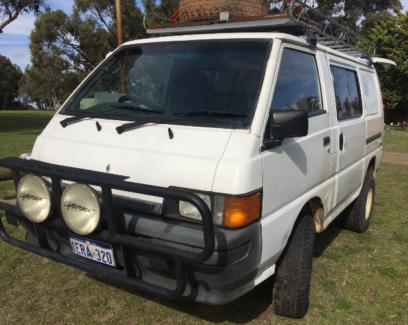 Mitsubishi Express Camper Van 4x4