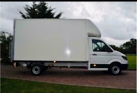 Urgent man with van house removal office commercial moving sofa furniture moving man and van