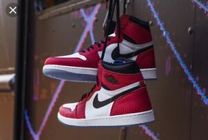 Air Jordans 1 Spider-Man size 11 brand new with receipt