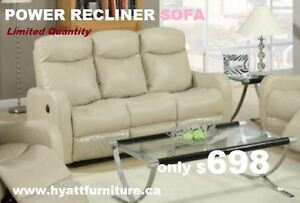 Brand New power Recliner Sofa only $698
