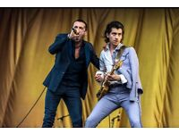 2x Last Shadow Puppets Tickets For Sale - Castlefield Bowl Sunday 10th July