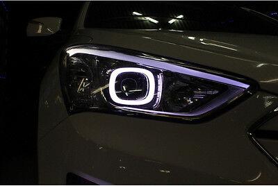 Head Light Lamp Angeleye LED Module for Hyundai 2013 2014 2015+ Santa fe Sport