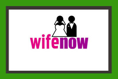 Wife Now  Com For Sale  Premium Domain Name  Aged 2005  Brandable Dating Site