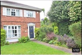 3 Bedroom House Close to Town Centre in a Quiet Location with Garage and Garden