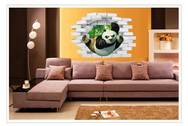 DIY Removable 3D panda Home Decal Living Room Decoration Wall Sticker 61 Decals, Stickers & Vinyl Art