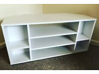 Argos White Wood Corner TV Stand - Open to offers