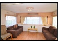 3 bed caravan for hire- short or long term £195/week Cambersands