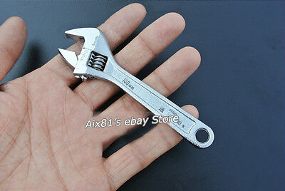 4 Inch Mini Metal Adjustable Spanner Wrench ...