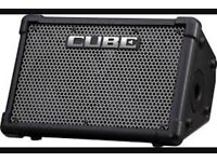 Roland Cube Ex portable amp for guitar, drums, mic