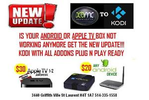 Apple TV UPDATE with new KODI