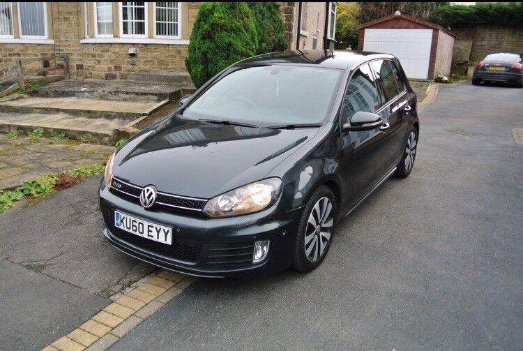 2010 60 Volkswagen Golf Gtd 2 0 Tdi Dsg High Spec Nt Gti A3 Black