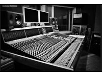 Fully Soundproofed Music Studio (Control/Live Room) To Rent in East London.