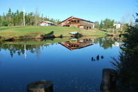 HOBBY FARM: LOG HOME ON 8.7 ACRES