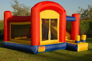 Super Slide Bounce House Inflatable Bouncer Moonwalk Jumper Jump Bouncy Castle