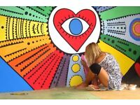 Home, office decorator and graffiti artist painter husband wife team looking for work