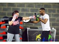 Good boxing personal trainer coach east london city - office gym home - best mobile training fitness