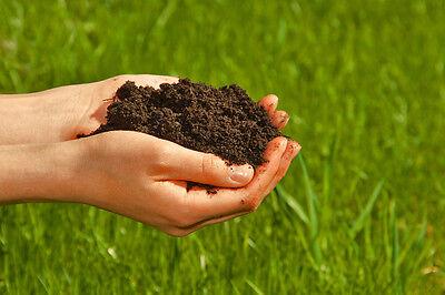 100% natürlichen Wurmhumus kaufen - Humus Erde Wurmerde Naturdünger