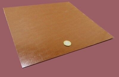 Garolite Micarta Canvas Phenolic Ce Sheet .031 132 Thick X 12 X 12 6 Unit