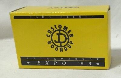 ERTL John Deere 7800 Tractor Expo 1993 Customer Roundup Aftermarket 1/64 NIB