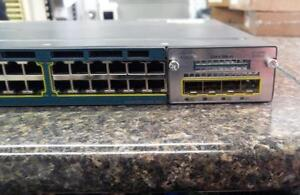 Switch cisco 3560 x ws-c3650x-48p-s vo5