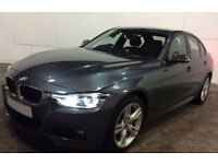 Grey BMW 335d automatic M Sport 2016 FROM £119 PER WEEK!