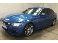 Blue BMW 330 3.0TD Auto 2013 d M Sport FROM £57 PER WEEK!