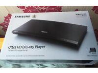 Samsung UBD M7500 smart 4K ultra hd blu-ray DVD player