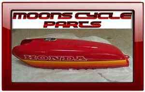 NOS Honda CB-50 Cafe Racer New Original Fuel Gas Tank 1970s Vintage