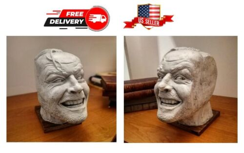 Sculpture Of The Shining Bookend Library Decor Here's Johnny Desktop Ornament