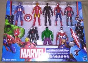 MARVEL ULTIMATE PROTECTORS PACK OF 8