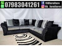 **25% off ** Brand New VAGAS SOFA 3+2 seater sofa corner sofa