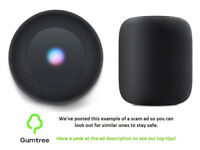 The Homepod by Apple -- Read the ad description before replying!!