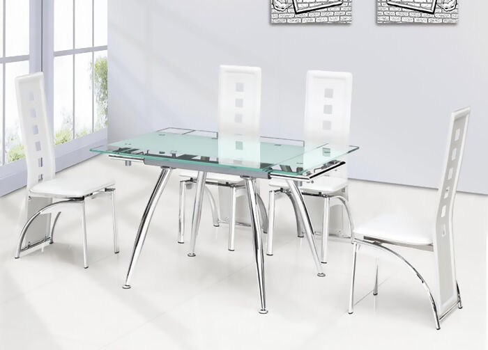 Glass Dining Table your guide to buying a glass dining table | ebay