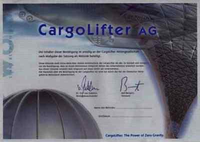 Cargolifter AG Wiesbaden Brand Halbe Brandenburg Boeing 2001 CL Aircrane Aerium