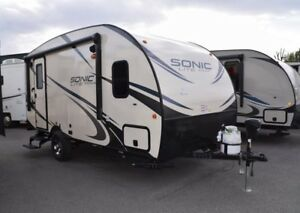 2018 Sonic Lite - Travel Trailers Lightweight 167VMS