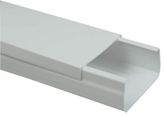 PRO POWER - CT70 - CABLE TRUNKING WHITE 100MM X 50MM 4 PACK , 3 METRES