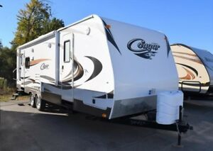 2013 Cougar 1/2 Ton TT - Travel Trailers 27RLSWE