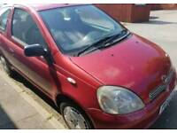 Toyota Yaris 1.0 2002 Run & Drive/ SWAP for DJI PHANTOM,MAVIC etc