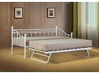 White day bed with trundle (no mattresses) £80