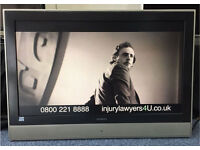"37"" Hitachi HD tv with built in Freeview NO base"