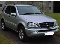 Mercedes ML270 CDi 7 Seater Estate