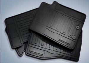 New 2015-2017 Ford Expedition OEM  All Weather Rubber Floor Mats  Liner