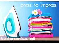 Press to impress ironing services hull