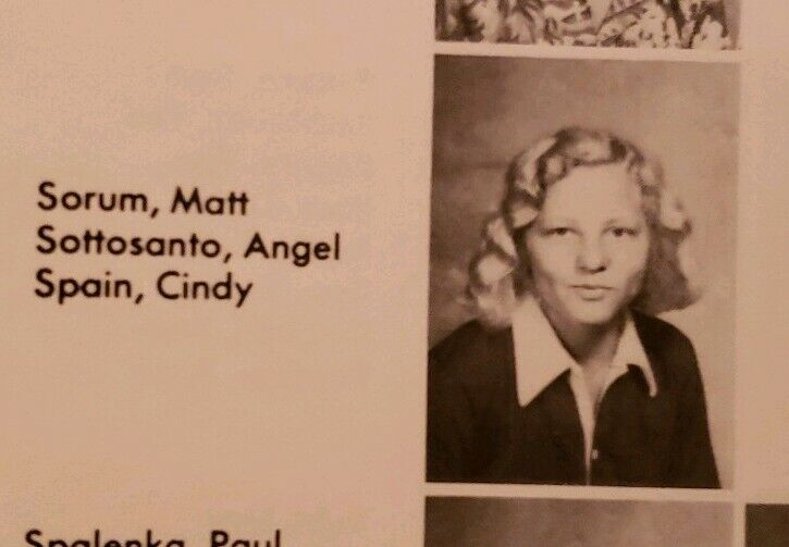 Matt Sorum High School Yearbook 1976 Drummer Gun n Roses The Cult