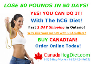 HCG! Lose 50 Pounds in 50 Days!