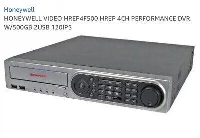 Honeywell Video Hrep4f500 4-channel Dvr 500gb Hdd Dvd-rw Drive New In Box