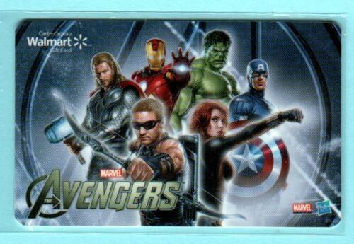 WALMART ( Canada ) The Avengers 2012 Gift Card ( $0 )